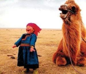 enfant-chameau